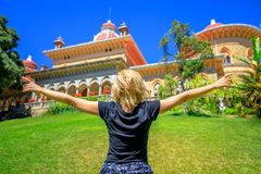 贝纳宫殿享用 免版税库存照片