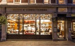 贝蒂` s咖啡馆和茶房间,约克,英国 库存图片