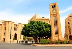 贝鲁特议会 免版税库存照片