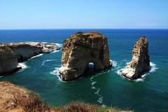 贝鲁特黎巴嫩风景 免版税图库摄影