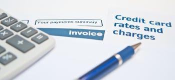 负债情形 免版税库存图片