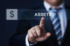 财产管理商业投资技术互联网概念 图库摄影