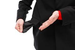财务人情形 免版税库存照片