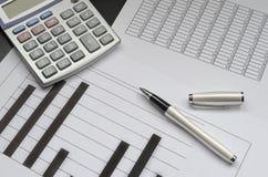 财务会计 免版税图库摄影