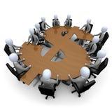 财务会议 向量例证