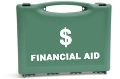财务危机的美元 免版税库存照片