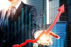 财务和成功概念 免版税图库摄影