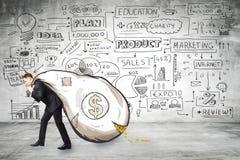 财务和财富概念 免版税库存照片