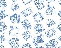 财务和银行业务样式 免版税图库摄影