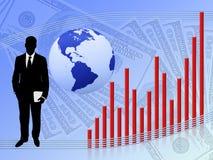 财务增长 库存图片