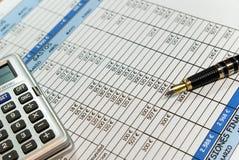 财务对象 免版税库存图片