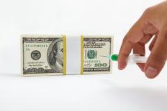 财务射入 免版税库存照片