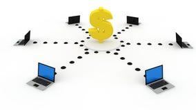 财务技术 免版税库存照片