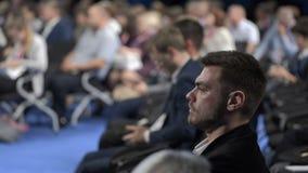 财务拥挤事件介绍或会议的业务会议  影视素材