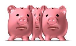 财务挤压 向量例证