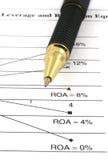 财务的分析 免版税库存图片