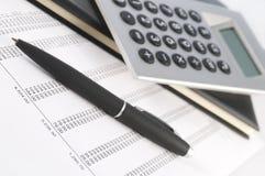 财务的帐户 免版税图库摄影