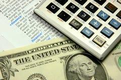 财务的概念 免版税库存图片
