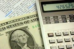 财务的概念 图库摄影