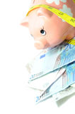 财务的横幅 免版税库存照片