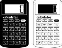 财务的计算器 库存图片