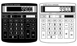 财务的计算器 免版税库存图片
