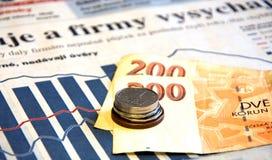 财务统计数据 免版税库存照片