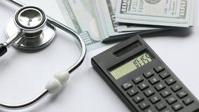 财政健康或财务医疗保健 股票录像