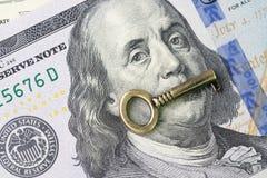 财政关键值、世界经济成长或者股市inve 免版税图库摄影