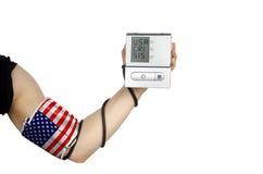 财政压力系统美国 免版税库存照片