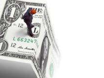 财政峭壁 免版税图库摄影