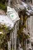 财政峭壁 库存图片