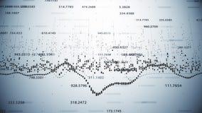 财政显示增长的赢利的图和图 向量例证