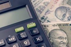 财政的印度,新的新兴市场高速增长国家概念 库存照片