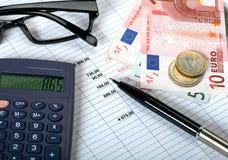 财政规划概念 免版税库存图片