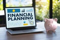 财政规划退休计划妇女和人retireme的 免版税库存图片