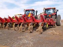 责任大量设备的农场 免版税图库摄影