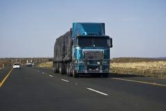 责任拖拉大量长的运输 图库摄影
