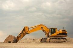 责任挖掘机大量超级 免版税库存照片