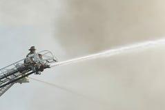 责任消防员 免版税库存图片