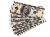 货币一团 库存照片