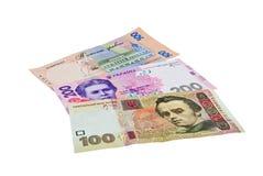 货币乌克兰语 图库摄影