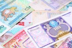 货币乌兹别克斯坦 免版税库存图片