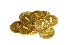 货币俄语 库存图片