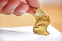 货币保存 免版税库存照片