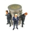 货币保护您 免版税库存图片