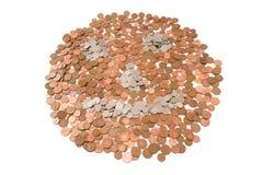 货币做我笑 库存照片