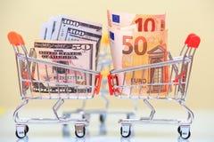 货币兑换率概念 免版税图库摄影