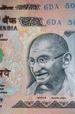 货币印地安人 库存图片