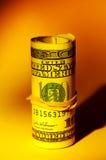 货币卷 免版税库存照片